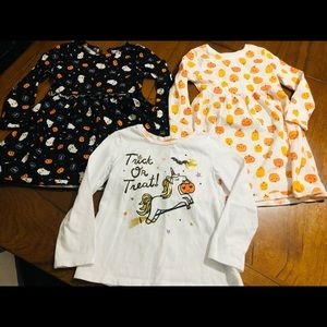 4T girls Halloween clothes lot
